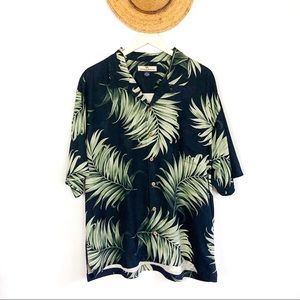 Tommy Bahama Relax 100% Silk Hawaiian Shirt XL